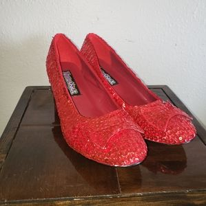 Funtasma Dorothy's Red Costume Slippers